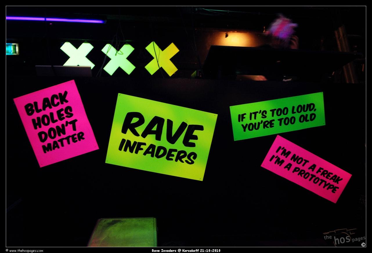 Rave Invaders @ Korsakoff 2010-10-21