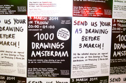 1000 drawings Trouw